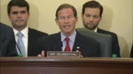 Connecticut Senator Richard Blumenthal contrasts US Women's World Cup win with crime in soccer organization