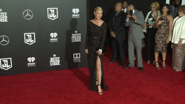 Connie Nielsen at the 'Justice League' World Premiere at Dolby Theatre on November 13 2017 in Hollywood California