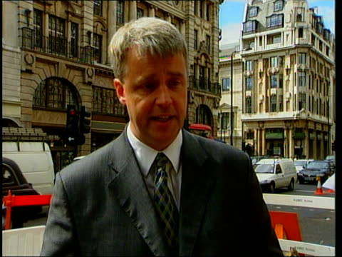 Conservative Ivan Massow defects to Labour ITN Mowlam Massow along Andrew Lansley MP interview SOT I don't recognise his description of the...