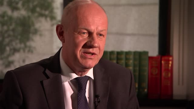 Conservative Party agrees deal with the DUP / Damian Green interview ENGLAND London INT Damian Green MP interview re DUP deal SOT