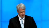 Andrew Lansley speech ENGLAND Manchester INT Andrew Lansley MP speech SOT Let me tell you about the NHS today / Today a million people will visit...