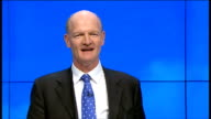 David Willets speech David Willetts MP speech SOT 'We need to try a new manufacturing process can you test it' / 'We need training can you provide...