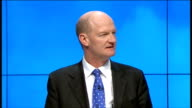 David Willets speech ENGLAND Manchester INT David Willetts MP speaking SOT David Willetts MP speech at Conservative Party Conference SOT Young people...