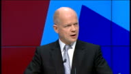 William Hague speech Hague speech SOT And we are just as right that the EU has more power in our national life than it should have and I believe as...
