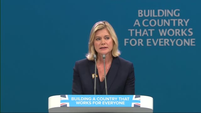 opening day Justine Greening speech ENGLAND Manchester INT Justine Greening MP speech SOT