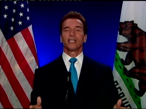 Boris Johnson Arnold Schwarzenegger and Michael Bloomberg speeches Arnold Schwarzenegger 2WAY speech from California SOT Hello everybody / It is a...