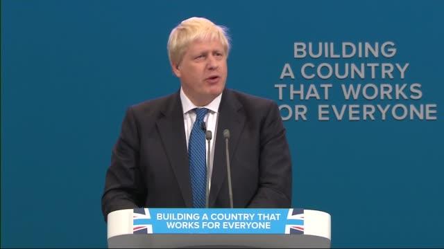 Boris Johnson speech Boris Johnson MP speech continued SOT