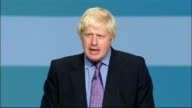 Boris Johnson speech Boris Johnson speech continued SOT It shows growing sense of civility and trust and respect for property which is public and...
