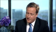child benefit cuts David Cameron apology Q this is not defence review it is spending review David Cameron interview continued SOT we want proper...