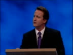 David Cameron first speech Where Labour are casual about increasing regulation we will be careful / We will ask Are we making it easier to start a...