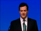 George Osborne speech And not just for big companies important as they are but for the small businesses too / You don't need to tell me about the...