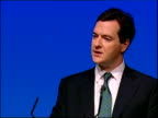 George Osborne speech Government must live within its means / We can't answer every problem with a pledge to spend more money / I have committed us...