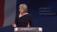 Theresa May speech on immigration May speech SOT Even actions taken with the best of intentions have consequences When the German Government...
