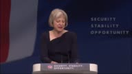 Theresa May speech on immigration May speech SOT We must also do everything possible to alleviate the suffering of the Syrian people Since the start...