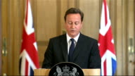 David Cameron monthly press conference David Cameron press conference SOT The legislative proposals that Ken Clarke is setting out today are one part...