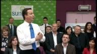 David Cameron speech on 'Mending our Broken Society' ENGLAND Kent Gillingham PHOTOGRAPHY *** Man introducing David Cameron SOT / David Cameron MP...