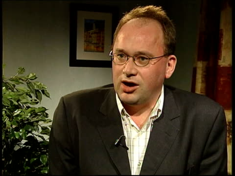 Michael Howard's shadow cabinet Andrew Cooper interview SOT Michael Howard is tryng to create a more streamlined organisation / Polls have shown that...