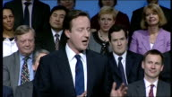 David Cameron speech David Cameron speech continues SOT There's one group of people who I know want to hear very specifically from us about the...