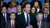 David Cameron speech David Cameron speech continues SOT We've had a great conference here in Brighton we've had a great year in our party you've...