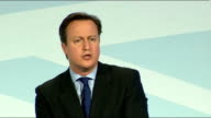 David Cameron speech Cameron speech SOT Tough long term action to strengthen our society / in education we face a monumental task / problems in state...