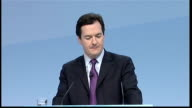 George Osborne speech George Osborne speech SOT What I want to talk to you about today is not the successes of the past but the trials that lie ahead...