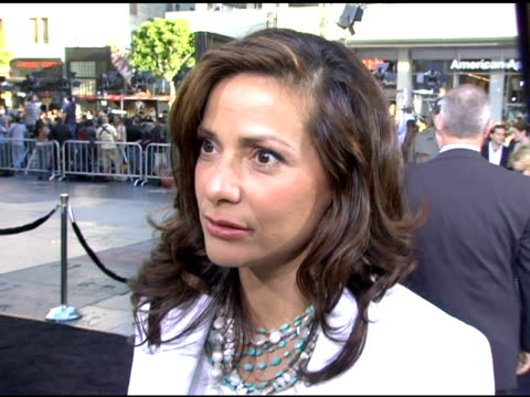 Constance Marie on coming to the premiere on why Batman is the hottest superhero and on Christian Bale who terrifies her and turns her on at the...