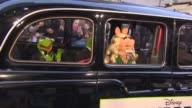 Constantine Miss Piggy Kermit The Frog at 'The Muppets Most Wanted' VIP Gala Screening at The Curzon Mayfair on March 24 2014 in London England