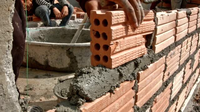 Construction Brick wall