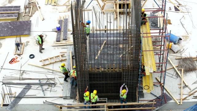 Construction in progress Men Working