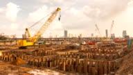 Bau des neuen Gebäudes