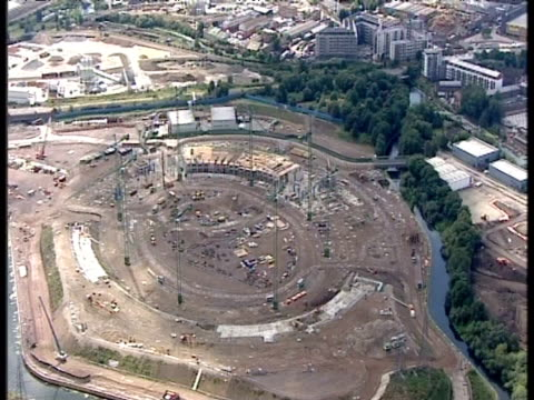 Construction site of stadium for London 2012 Olympic Games