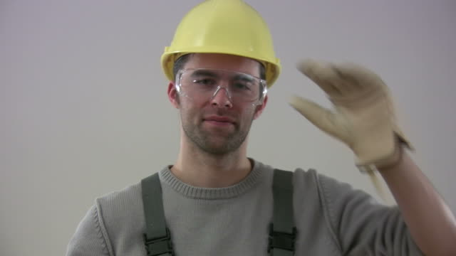 Construction  worker greeting