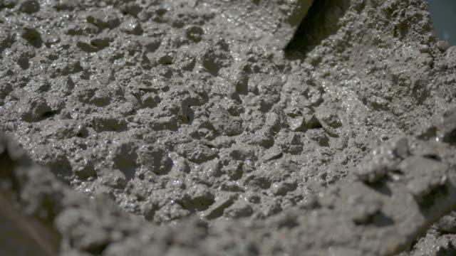 Bouw werknemer gips cement