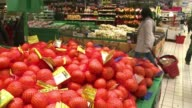 Consumer goods in France have risen in price by 02 percent in June and inflation is up slightly to 09 percent according to official statistics...
