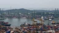 Containerhafen Docks Schiff container