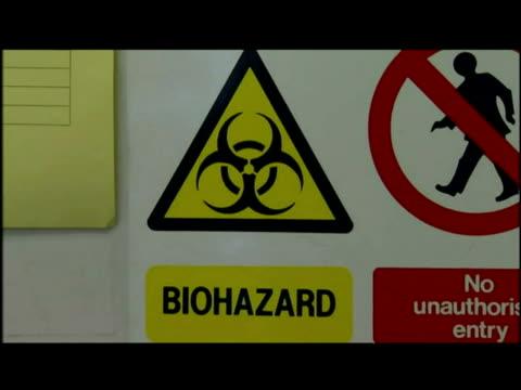 Containment Level Three Laboratory / Swind Flu Testing
