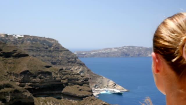 Contemplation above the Aegean sea