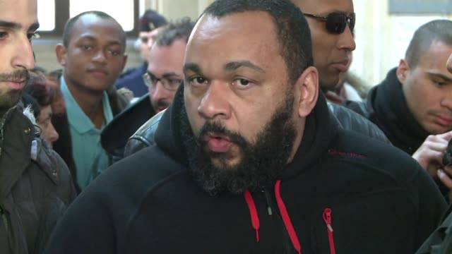 Controversial French comedian Dieudonne is being held at Hong Kong airport after flying in to give performances in the city with his production...