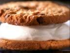 cookie e cream. galleta y crema