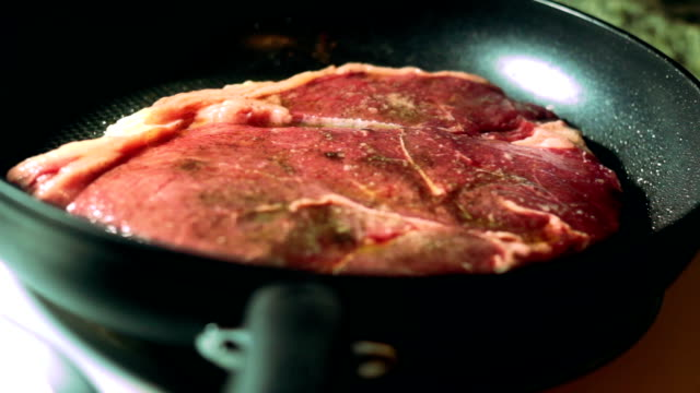 Cooking a Steak