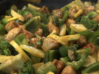 Cooking - Stir Fry Chicken and Vegetables