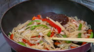 Cooking stirfry