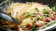 Cooking Thai noodle