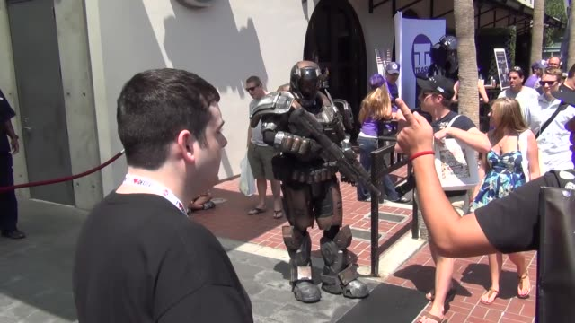 Cool armor costume at San Diego Comiccon at Celebrity Sightings ComicCon International 2013 Celebrity Sightings ComicCon International 2013 on July...