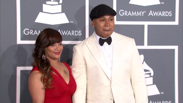 LL Cool J at The 55th Annual GRAMMY Awards Arrivals in Los Angeles CA on 2/10/13