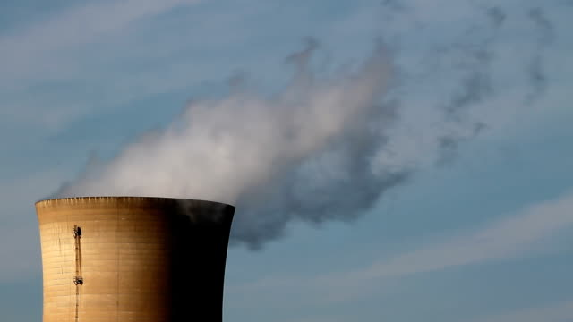 Cooling Nuclear Tower