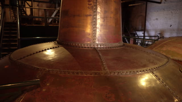 Copper brewery distillers