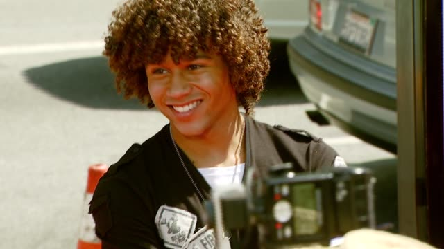 Corbin Bleu at the 'Nancy Drew' Premiere at Grauman's Chinese Theatre in Hollywood California on June 10 2007