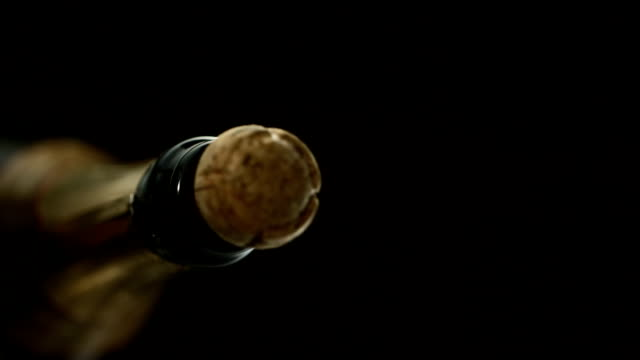 Cork Popping Out (Super Slow Motion)