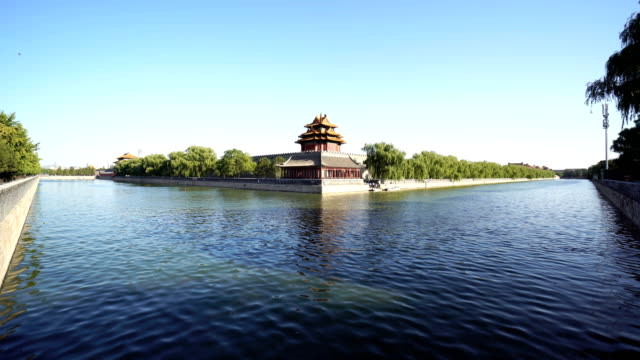 Corner Turret of Forbidden city,Beijing,China.